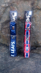 Toronto Maple Leafs and Montreal Canadiens Lanyards (gift idea)
