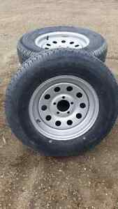 NEW! TRAILER TIRES WITH RIM - 4 available!