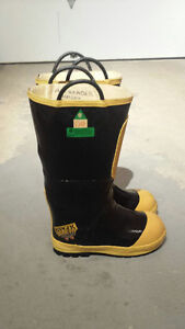 Authentic Firefighter boots