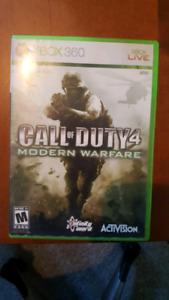 Xbox 360 Call of duty 4