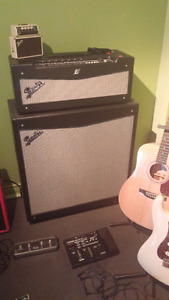 Fender Amp Mustang V (head and cab)