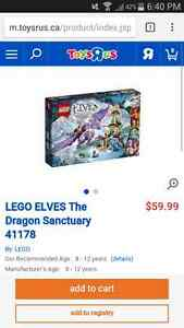 brand new LEGO Elves dragon sanctuary St. John's Newfoundland image 1