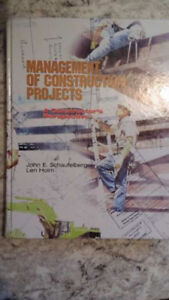 Management of Construction Projects textbook