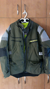 Motorcycle jacket, manteau motocyclette