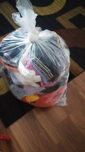 Bag of large clothing
