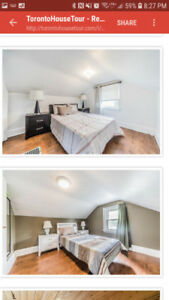 Room for rent  416 543 0138