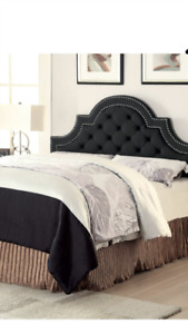 Brand new in box King size head board - charcoal