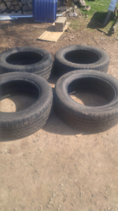 4 good year  tires now $100 obo