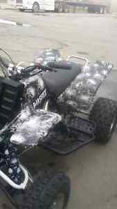 Customize your quad ,bike.anything with Bourque's Hydrographics