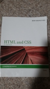 HTML and CSS Comprehensive 6th edition