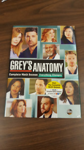 Gray's Anatomy The Complete Ninth Season DVD set