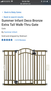 Extra tall baby gate