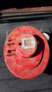cast iron fire call switch