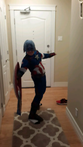 Captain America costume & shield