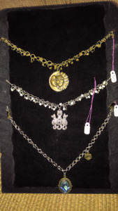 One of a kind chainmaile necklaces