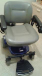 fauteuil motorisé