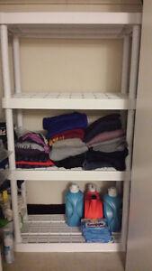 Sturdy 4-shelf rack for sale!