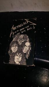 Metallica Cliff'Em All VHS
