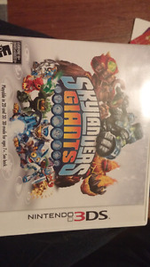 Skylander 3ds game and toy lot for sale