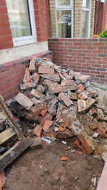 Free Old bricks and rubble