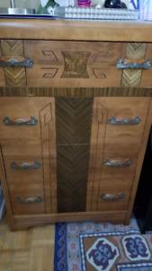 Antique Double Bed Set