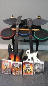Guitar Hero Complete Set
