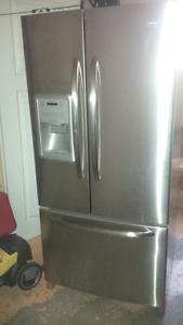 Maytag Stainless Steel Refridgerator, needs compressor