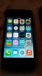 Unlocked IPhone 4 with mophie battery pack