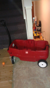 Two Seater Wagon With Seat Belts