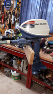 6 HP Evinrude 2nd Owner Excellent Condition $600