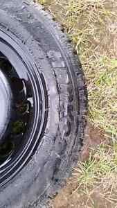 225/60R16 studded winter tires and rims Prince George British Columbia image 2
