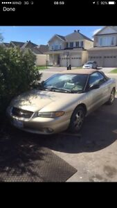 Convertible Chrysler Sebring 1999