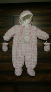 Like New-Baby snowsuits for sale 9 months old