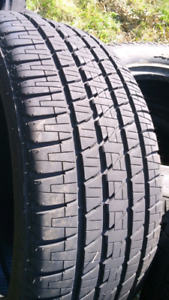 LIKE NEW 285/45/R22 BRIDGESTONE ALL SEASON TIRES