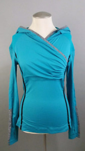 Lululemon Run For Your Life Pullover Sweater Oasis Teal Stretc