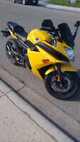 Great Yamaha FZ6R low kms/// trade for car