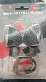 Motor cycle led indicators