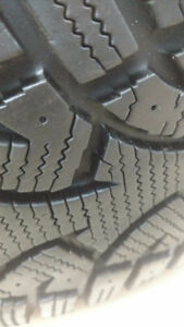 235/55r17 Conntinental Conti 4x4 IceContact