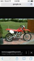 WANTED Honda xr400