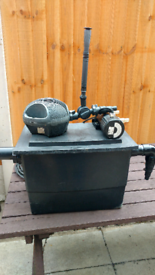 Pond filter and pump (buyer collects)