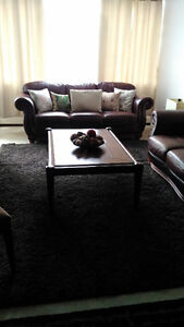 Beautiful coffee table with side table