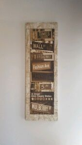 Tableau Canvas New York 15.5 in x 47.5 in