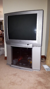 32 inch Toshiba TV and Matching Stand