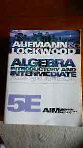 Algebra Introductory and Intermediate An Applied Approach 5e