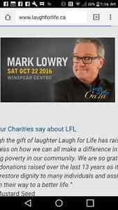 Laugh for Life Gala Tickets