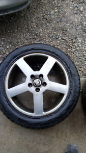 (4) Volvo S60 Rims + Winter tires 5X108 235/50/R17