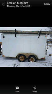 2002 viking cargo trailer 7 by 14