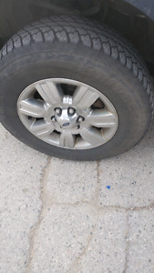 2012 f150 rims with Tires