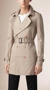 Genuine Burberry Men's Trench Coat New Never Wear