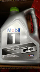 4.4L Mobil 1  synthetic 0W-40 European car Formula New sealed